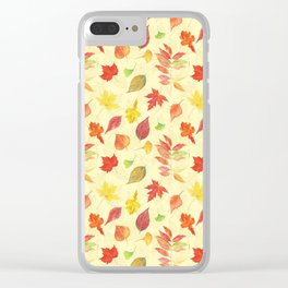 Autumn leaves #21 Clear iPhone Case