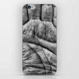 Left Hand iPhone Skin