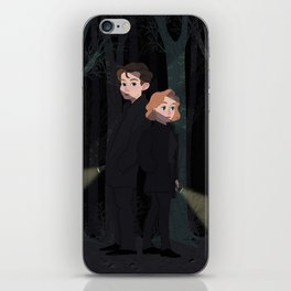 Mulder and Scully iPhone Skin