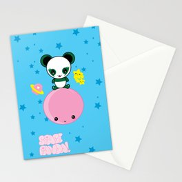 Space Panda! Stationery Cards