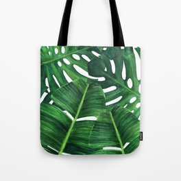 Tropical palm art Tote Bag