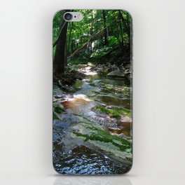 Woodland Stream--Landscape Photography Prints iPhone Skin