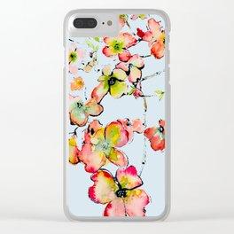 late missouri summer Clear iPhone Case