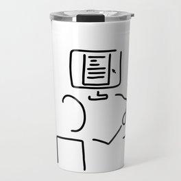 editor technical author script writer Travel Mug