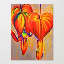 Lamprocapnos Canvas Print
