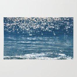 Blue Sea Sparkle Rug