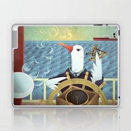 A-Z Animal, Albatross Quartermaster - Illustration Laptop & iPad Skin