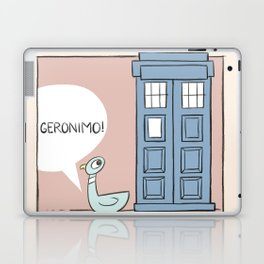 Don't Let the Pigeon Drive the Tardis Laptop & iPad Skin