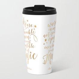 Dumbledore's Magic Words Travel Mug