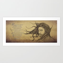 Espiritu del viento. Art Print