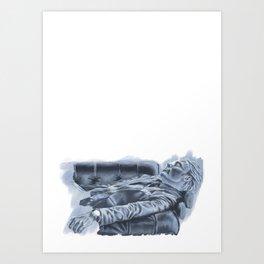 Relaxing madness Art Print