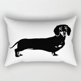 Dachhund Dog Rectangular Pillow