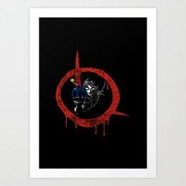 Link for vendetta Art Print