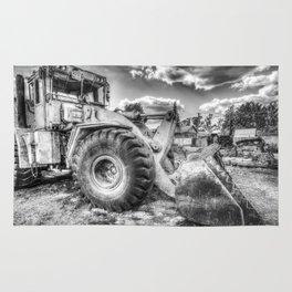 Bulldozer Machine from Earth Rug
