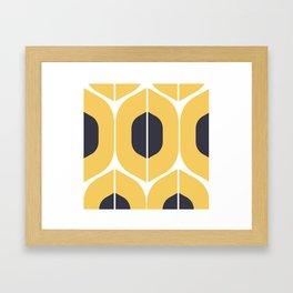 graphic pattern Framed Art Print