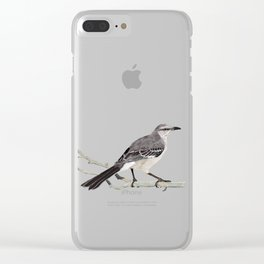 Northern mockingbird - Cenzontle - Mimus polyglottos Clear iPhone Case
