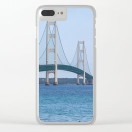 The Mighty Ducks of Mackinac Clear iPhone Case