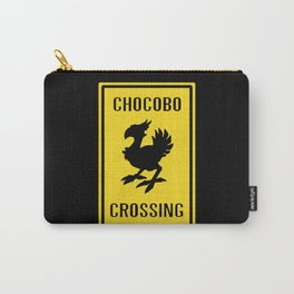 FINAL FANTASY: WARNING, CHOCOBO CROSSING Carry-All Pouch