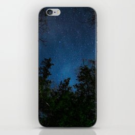 Stars above the Forest iPhone Skin