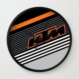 KTM Line Wall Clock