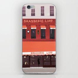 Brasserie lipp iPhone Skin