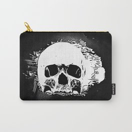 Skull Face Carry-All Pouch