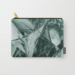 Green Abstract Eagle Nest Carry-All Pouch