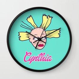 Cynthia Doll Wall Clock