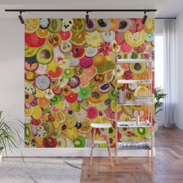 Fruit Madness (All The Fruits) Wall Mural