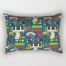 Magical Music Machine Rectangular Pillow