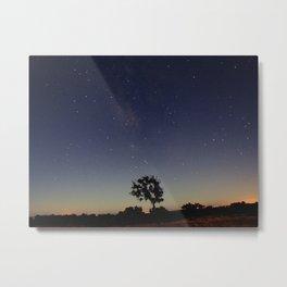 Night of stars Metal Print