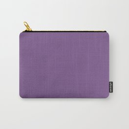 Dark English Lavender 1 - Color Therapy Carry-All Pouch