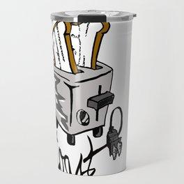 Push Toast Travel Mug