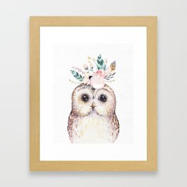 Forest Owl by Nature Magick Framed Art Print