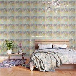 Pastel Mountains Wallpaper