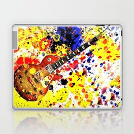 Retro Les Paul guitar Laptop & iPad Skin