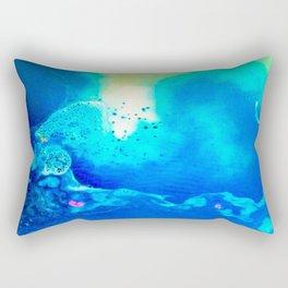 Electric Lagoon Rectangular Pillow