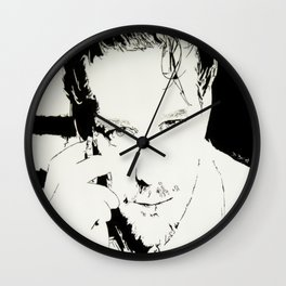 Mickey Rourke Wall Clock