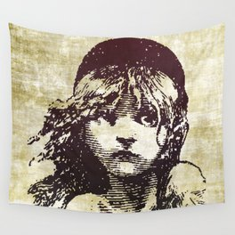 Les Miserables Girl Wall Tapestry