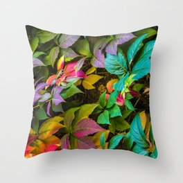 A thousand autumns Throw Pillow