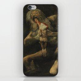 Saturn Devouring His Son - Goya iPhone Skin