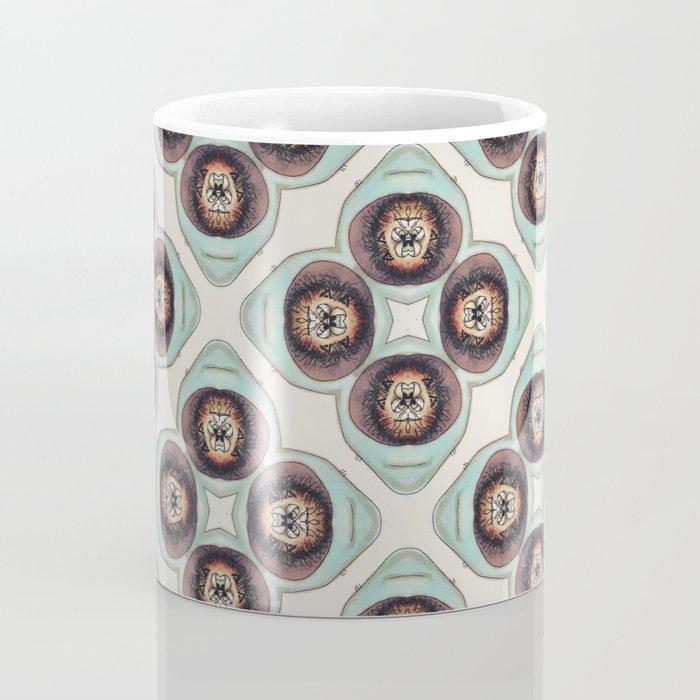 Nasty Cat Kaleidoscope Coffee Mug