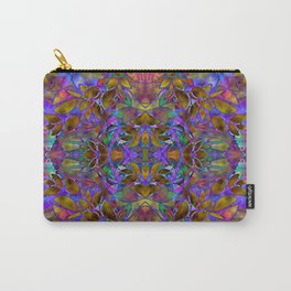 Fractal Floral Abstract G126 Carry-All Pouch
