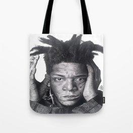 Jean-Michel Basquiat Drawing Tote Bag