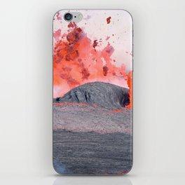 volcano #society6 #decor #buyart iPhone Skin