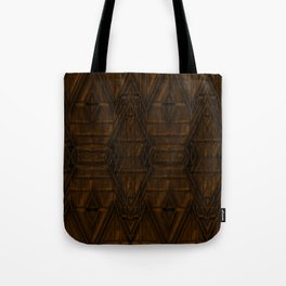 Coppery African Pyramid Tote Bag
