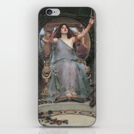 Circe Offering the Cup to Ulysses, John William Waterhouse iPhone Skin