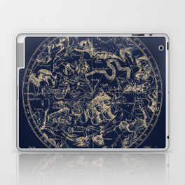 Gold Ceiling | Zodiac Skies Laptop & iPad Skin