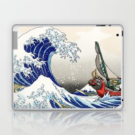 Legend of Zelda Great Wave Windwaker - the great wave off kanagawa Laptop & iPad Skin