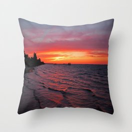 Dreams as Vast as the View Throw Pillow